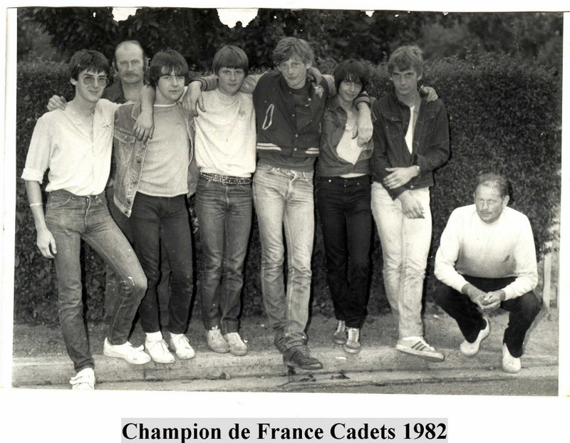 cadets Houlgate champion de France 1982