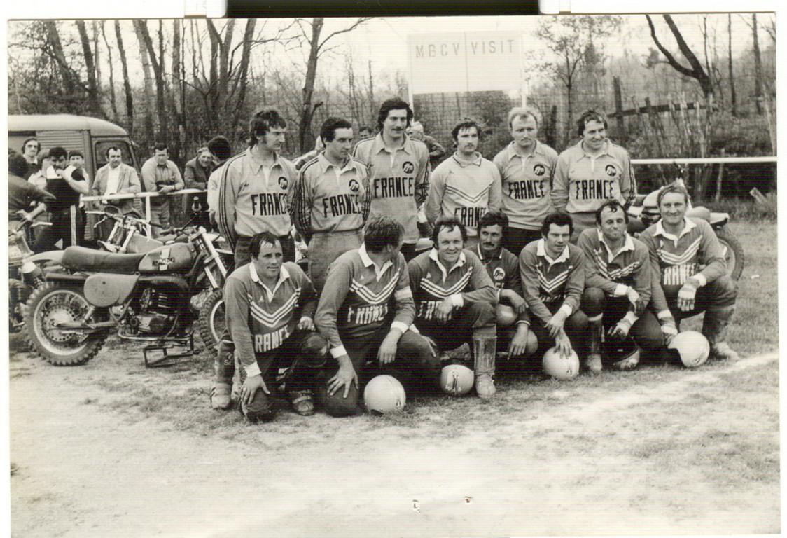 1984 équipe de France , Patrice