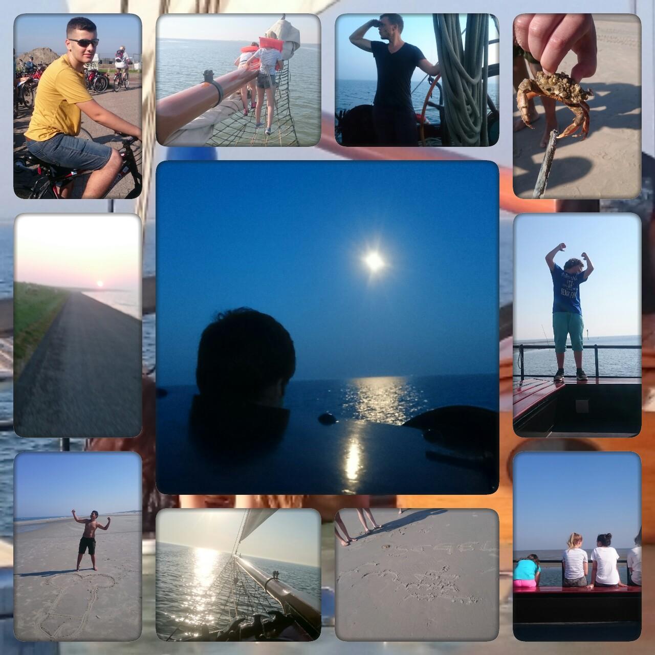 Klassenfahrt 9b Ijsselmeer