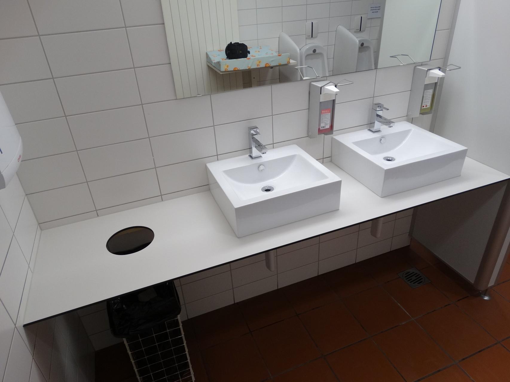WC Anlage Zillcenter Kreuzlingen
