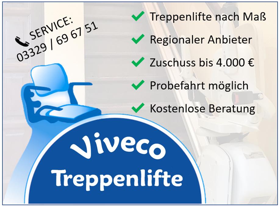 Viveco Treppenlifte - wir bringen Sie nach oben.