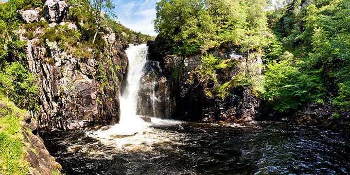 Falls of Kirkaig Highlands of Scotland