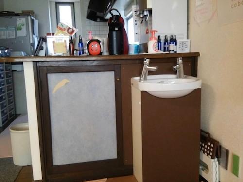 手洗いうがいはこちらでしっかりお願いします!