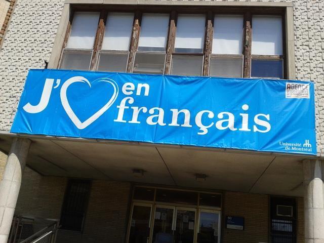 À l'Université de Montréal - Gilles Bélanger