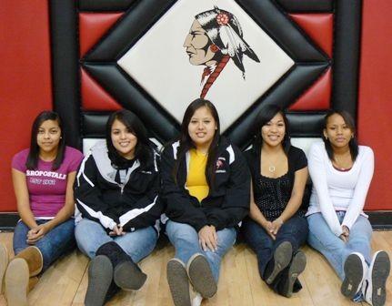 De jeunes Amérindiennes