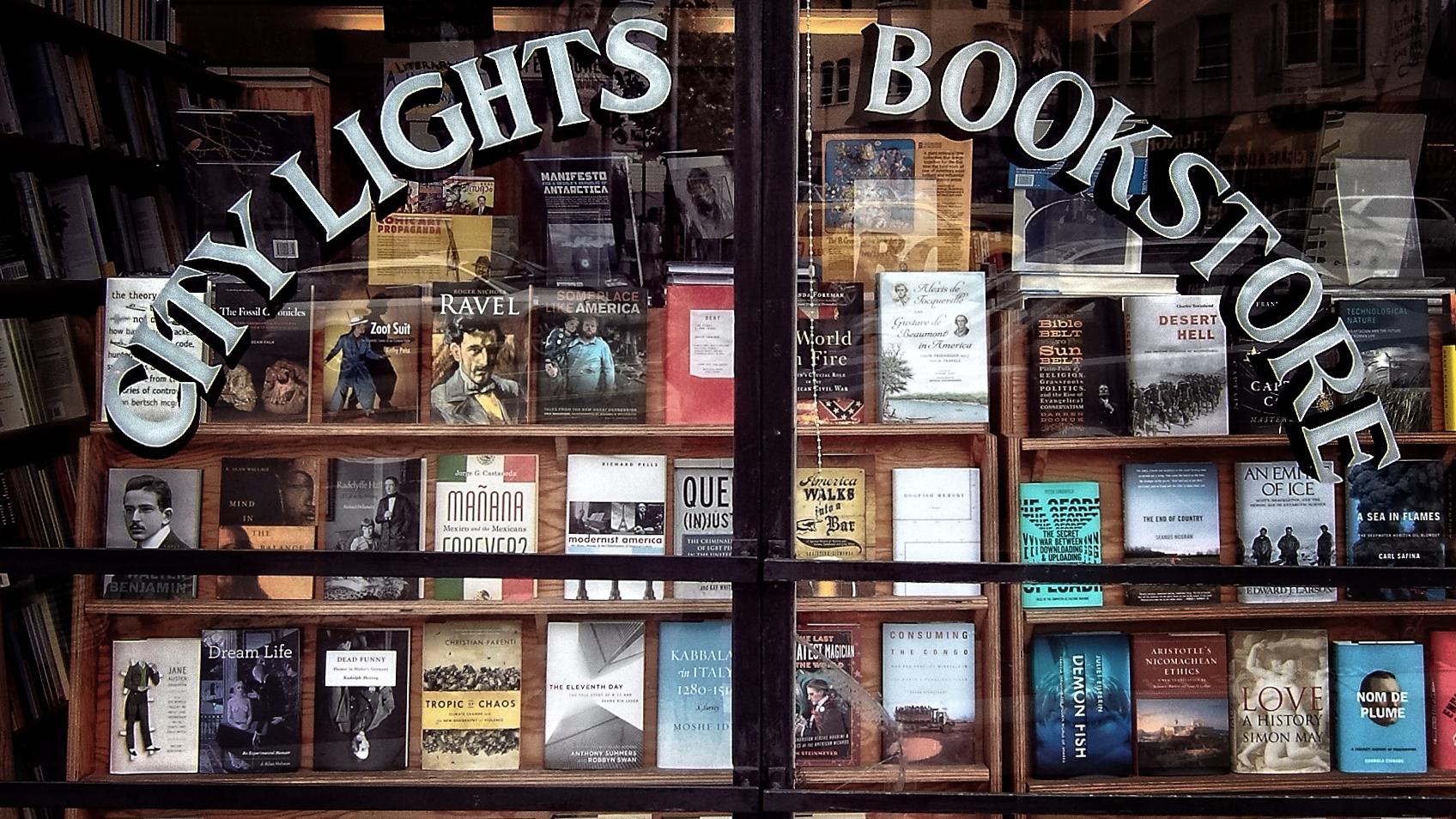 Der City Lights Bookstore gehört heute fest zum kulturellen Erbe San Franciscos.