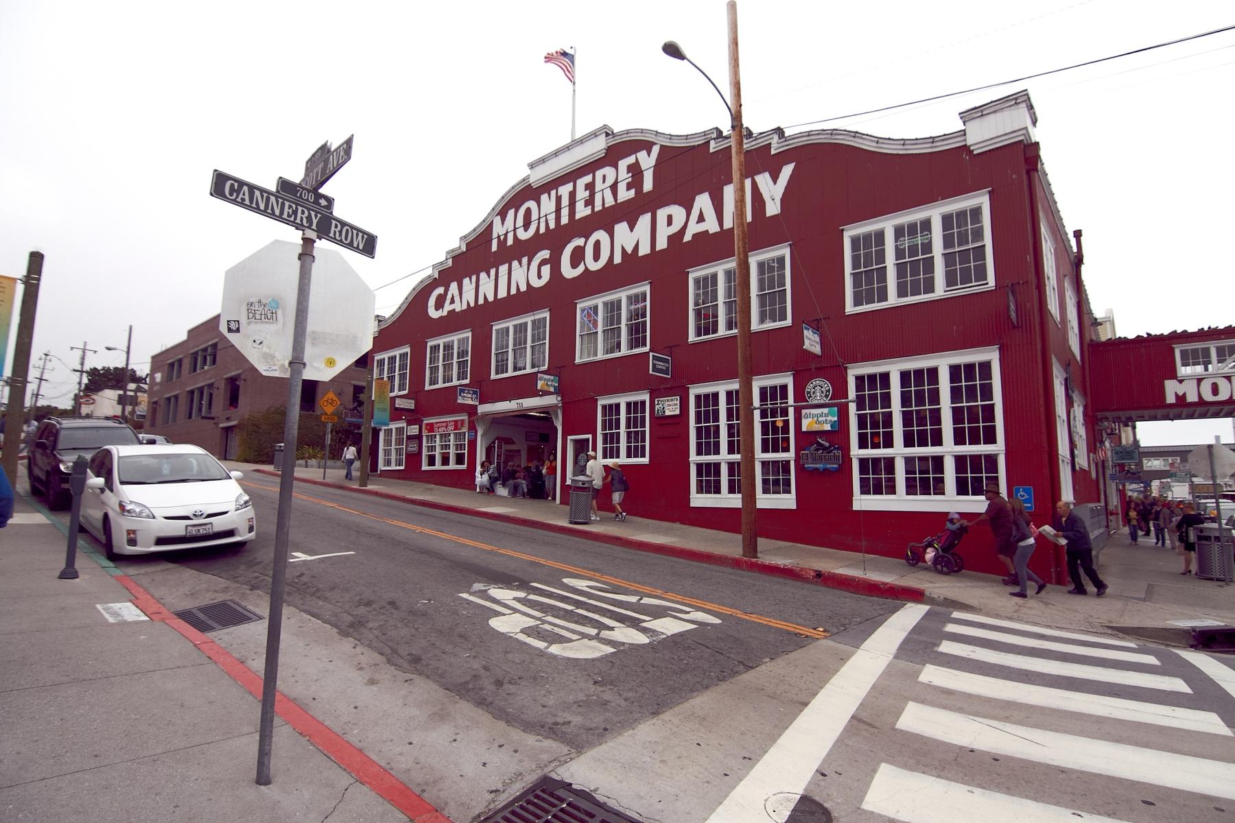 und die Cannery Row damit zu einer der meist frequentierten Straßen der USA macht.