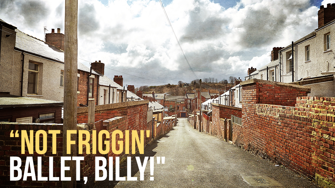 Billys Zuhause im fiktiven Everington, das im realen Easington Colliery angesiedelt ist (Foto: Christian Düringer)