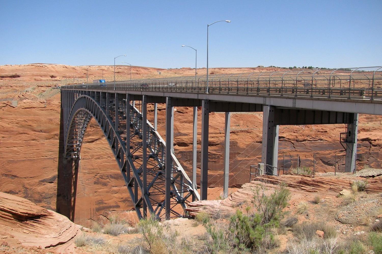 Highway-Brücke bei Page