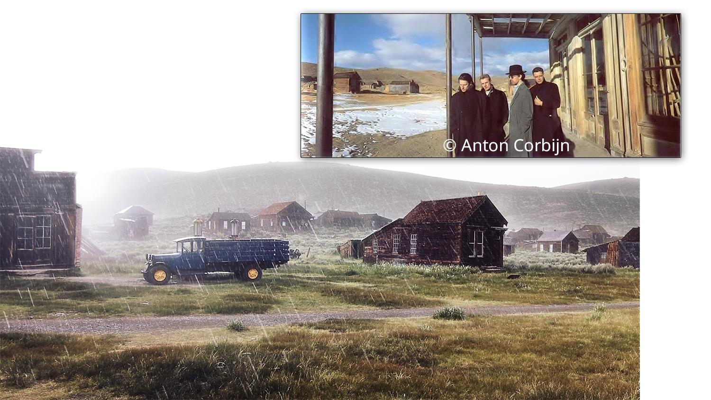 Unter dem Dach des Wheaton and Hollies Hotel ließen sich ließen sich U2 genauso von Corbijn ablichten...