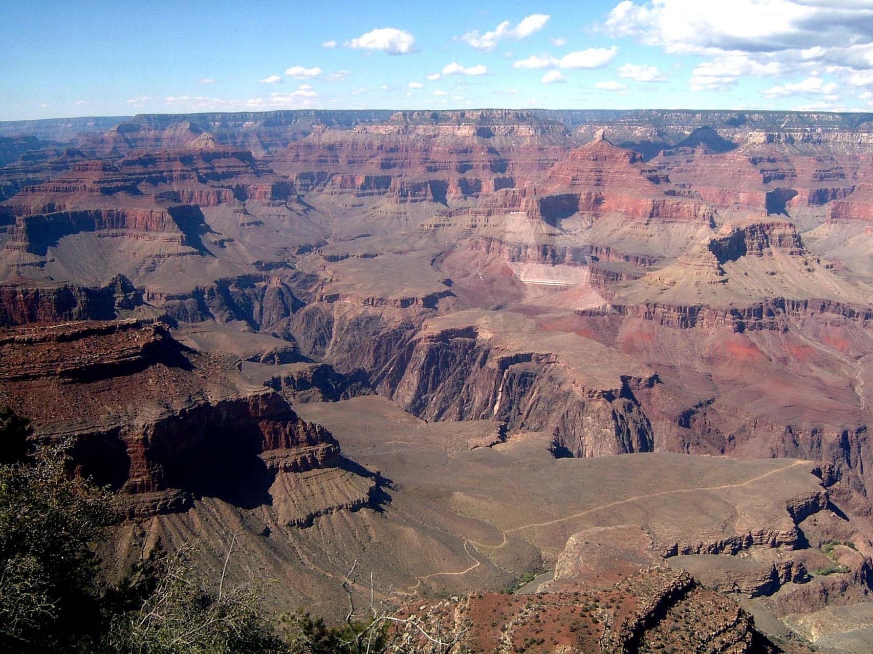 """Eine weitere Station in """"Geister-Canyon"""" ist der Grand Canyon,..."""