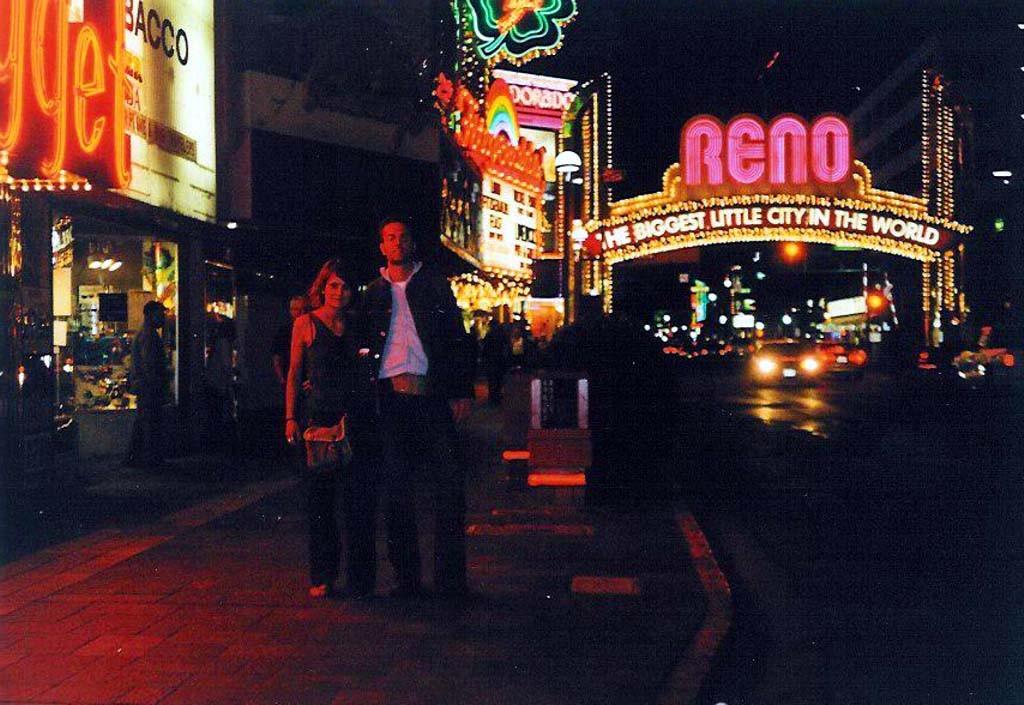 """Reno gilt als das kleine Las Vegas. Hierhin verschlägt es die drei ??? in den Folgen """"Geisterstadt"""" und """"Straße des Grauens"""""""