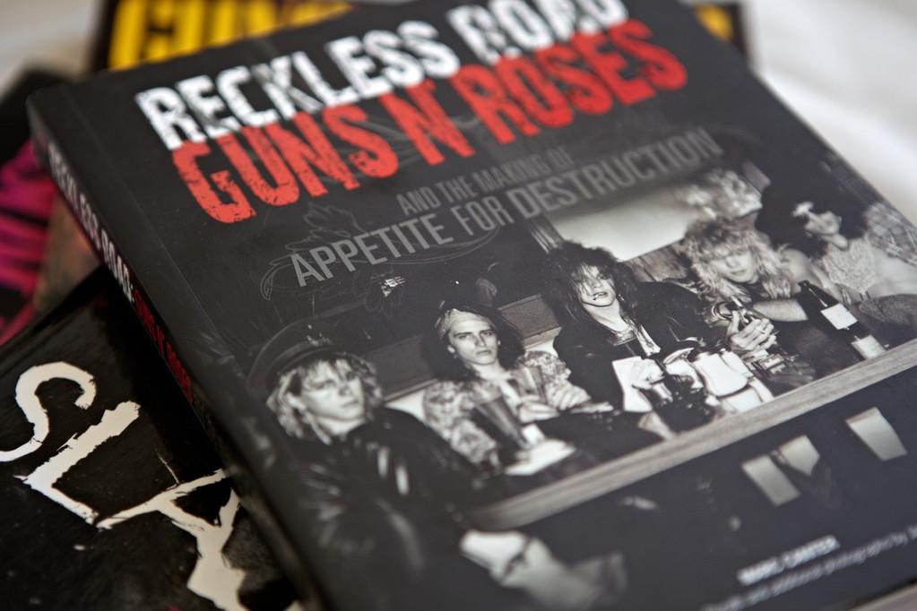 Marc Canters Guns N'Roses Bildband (Foto: Christian Düringer)