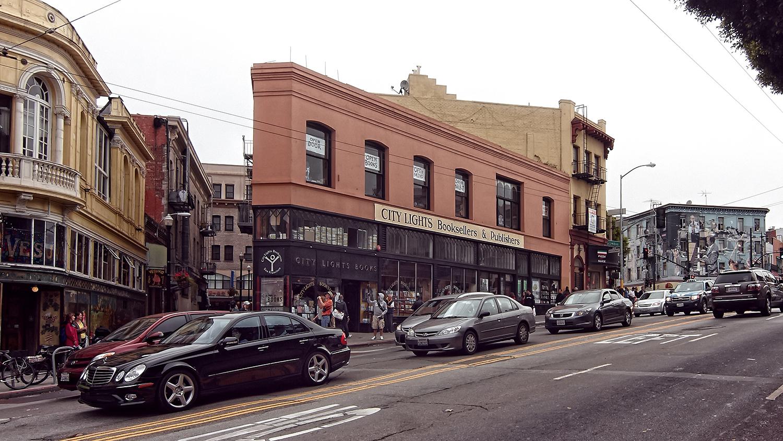 Der Laden liegt an der Columbus Avenue 261 im Herzen der Stadt.