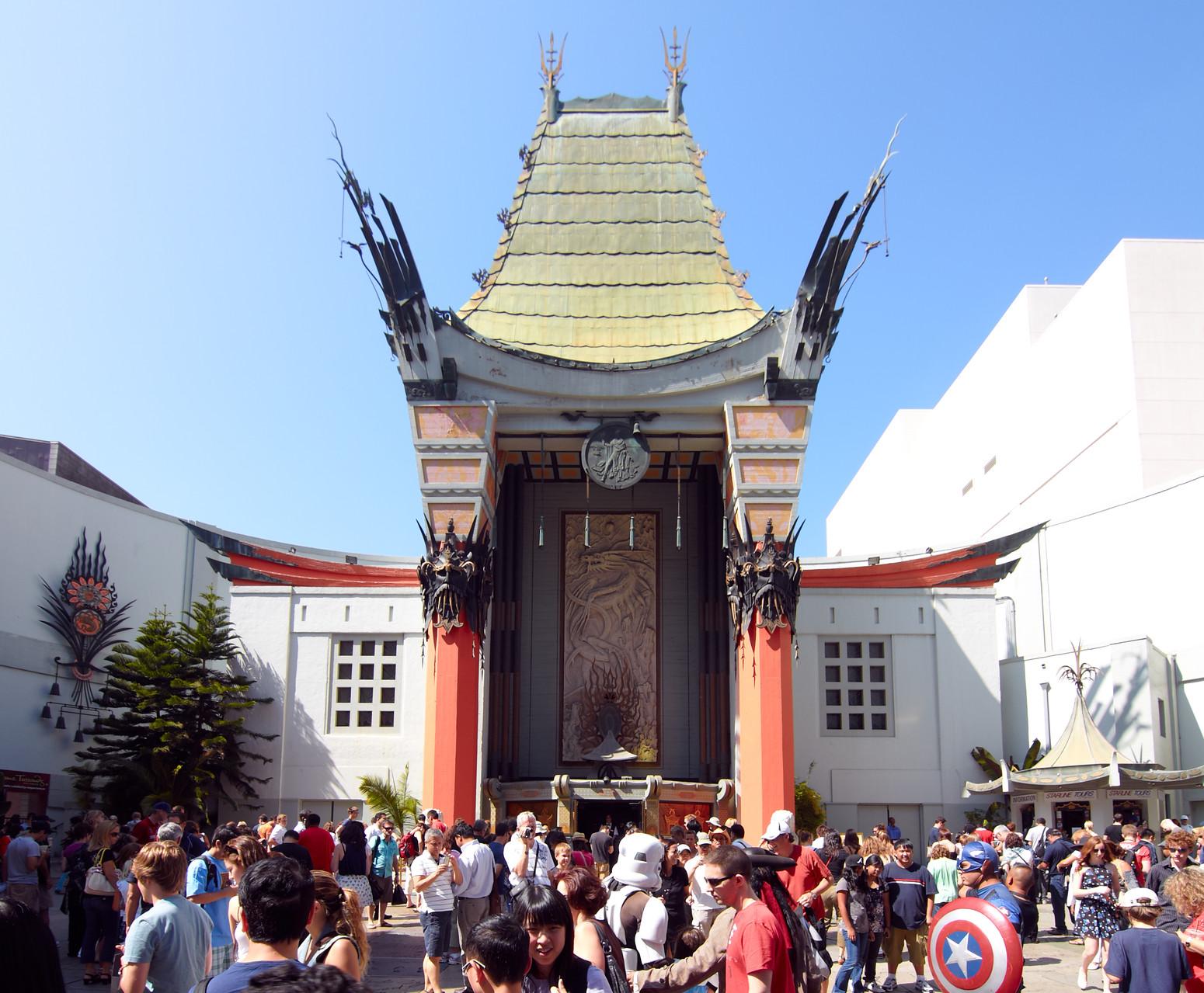 Das Chinese Theater ist das bekannteste Kino Hollywoods.