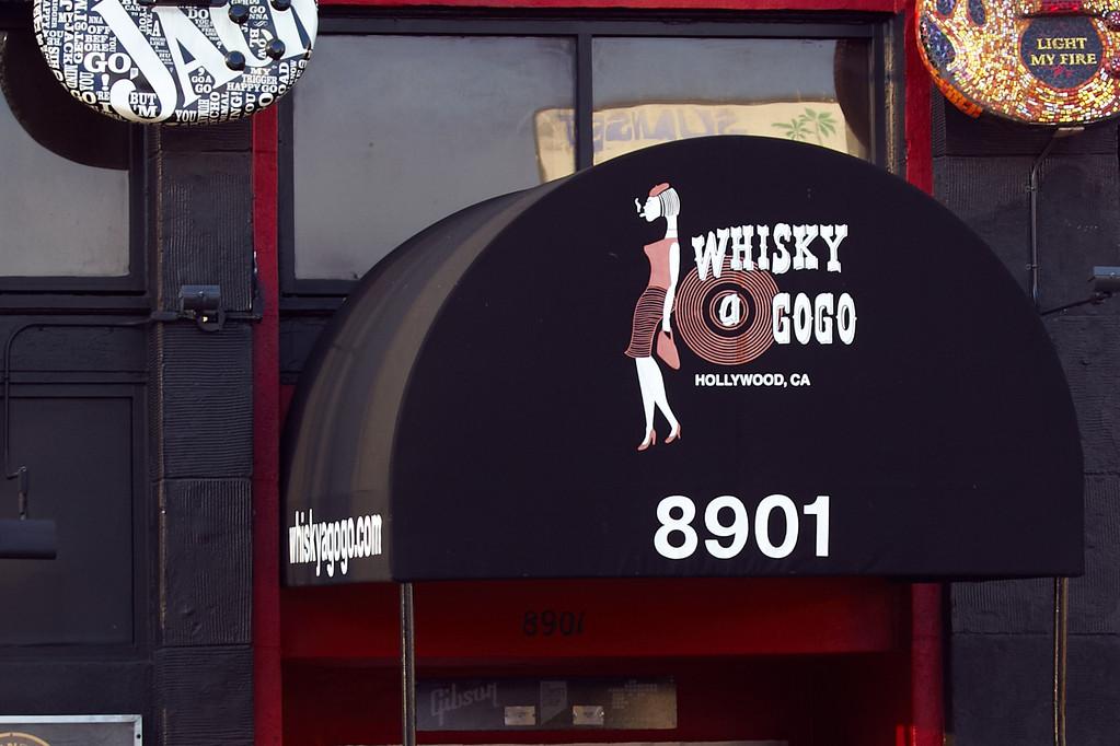 Eingang zum Whisky (Foto: Christian Düringer)