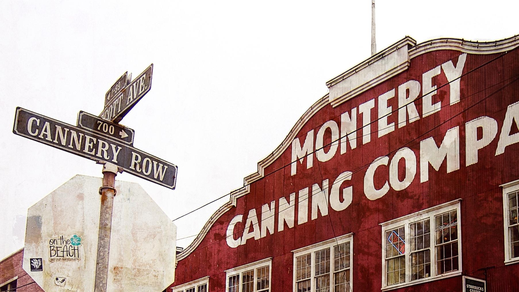 In der Cannery Row in Monterey boomte in der ersten Hälfte des 10. Jahrhunderts die Produktion von Ölsardinen.