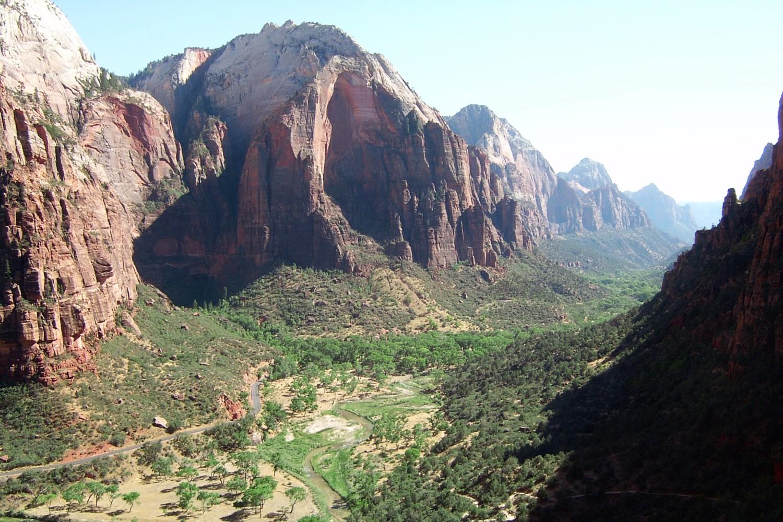 """In der Folge """"Geister-Canyon"""" kommen die drei ??? während ihres Road-Trips u.a. in den Zion Nationalpark"""