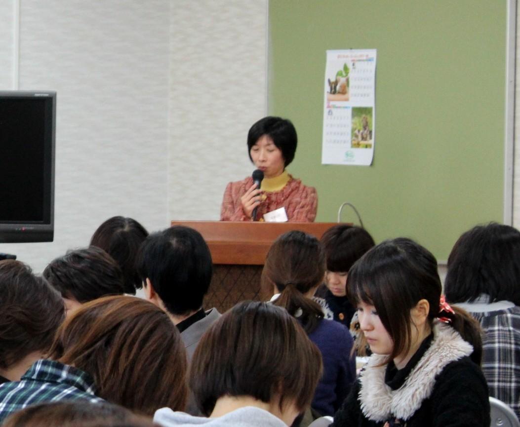 女子力アップ講座・小野佳奈さんによる『お母さんが体験した福島原発事故』