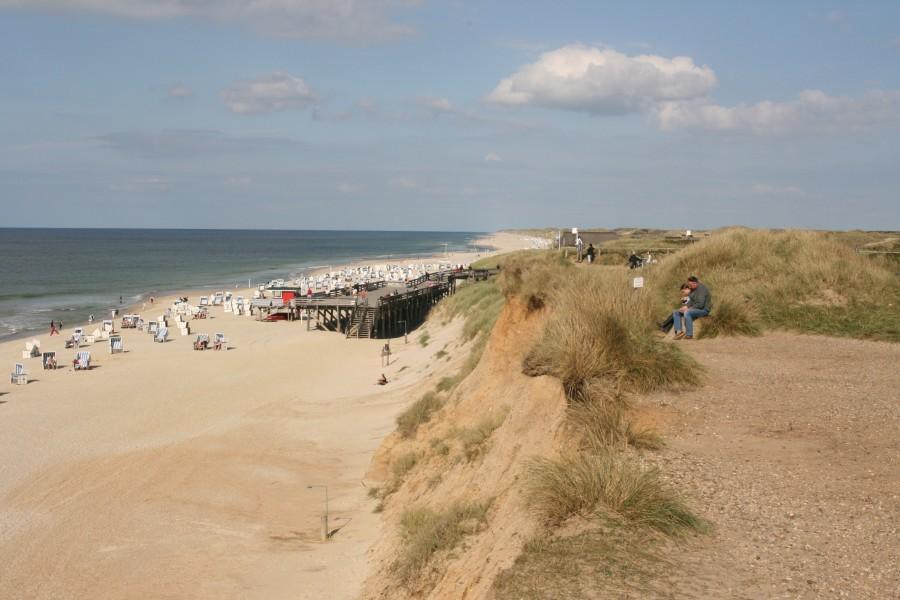 Strand hinter Westerland
