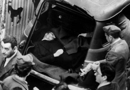 Ritrovamento di Aldo Moro in via Caetani, Roma