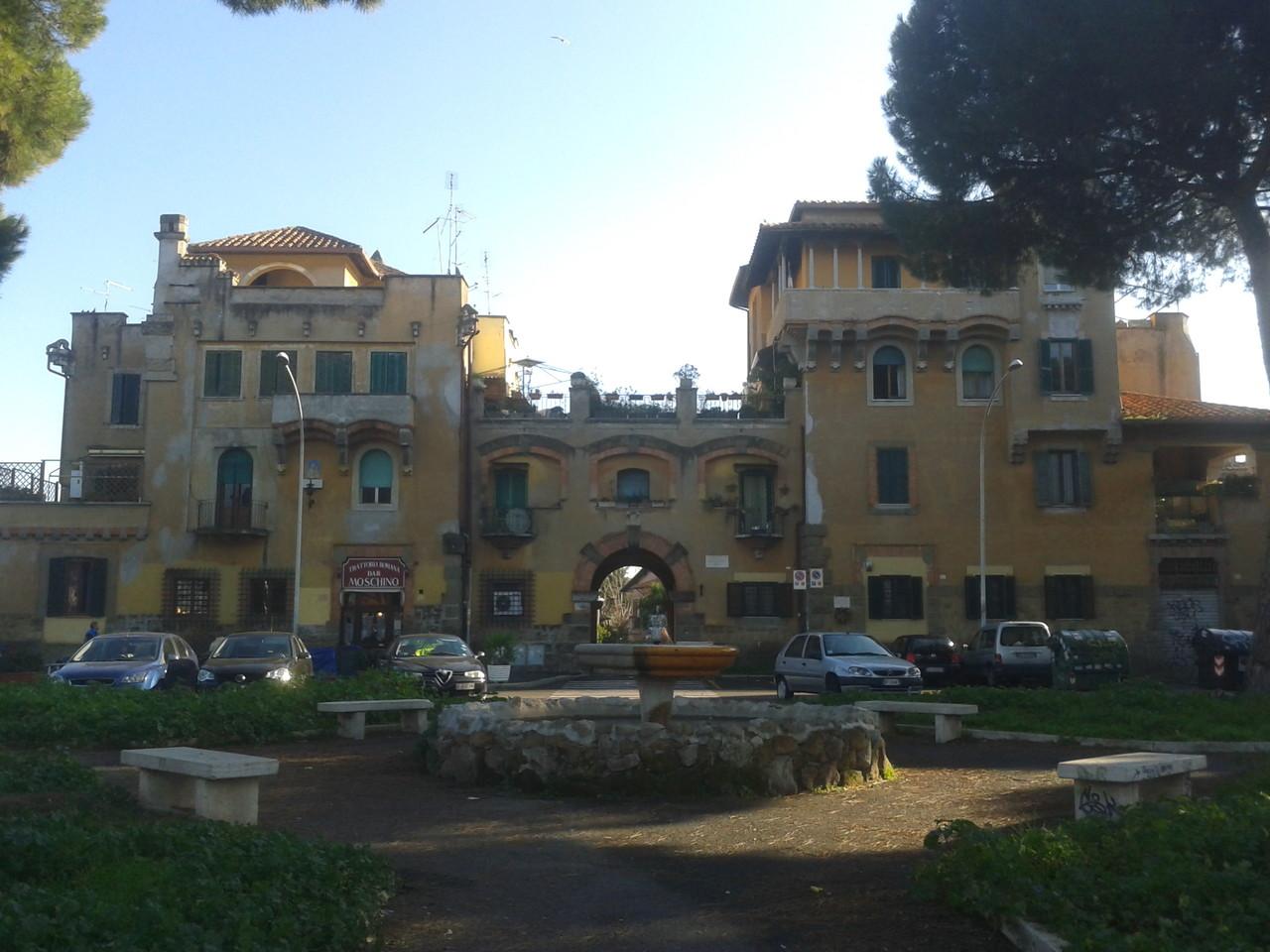 Garbatella Da Piazza Brin alla Basilica di S.Paolo Roma