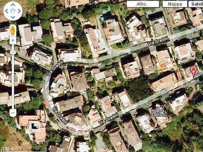 Veduta aerea di via Gradoli, Roma