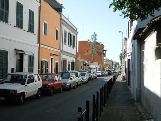 """Via Fanfulla da Lodi, set del film """"Accattone"""" di Pier Paolo Pasolini"""