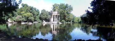 villa borghese laghetto