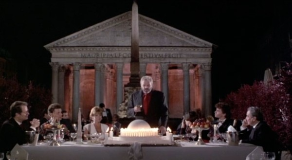 Il ventre dell'architetto, Peter Greenaway - Pantheon, Roma