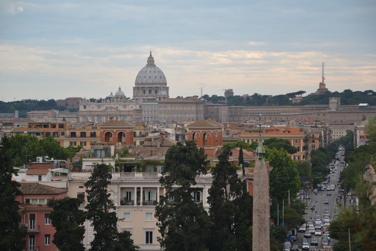Pincio Roma A Piedi