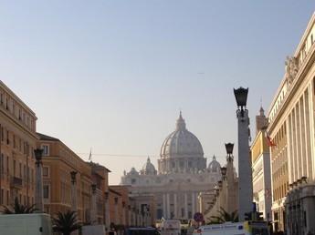 San Pietro da Via della Conciliazione