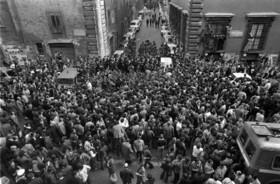 16 marzo del 1978, via Caetani, Roma