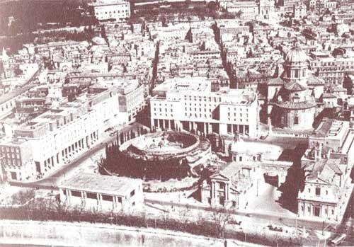 L'Augusteo (1937), luogo in cui sorge Piazza Augusto Imperatore, Roma