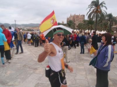 Es waren mehr deutsche Starter wie Spanier am Start
