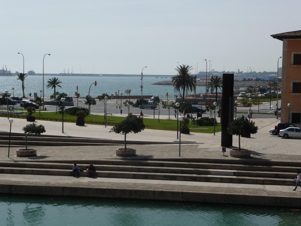 Hafenbereich wo Start- und Zielbereich war