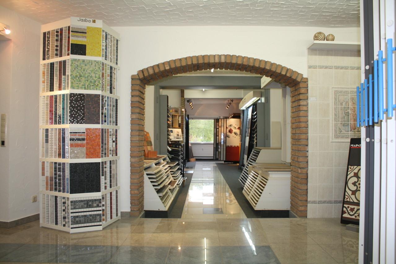Ausstellungsräume von Fliesen Diercks in Bünde