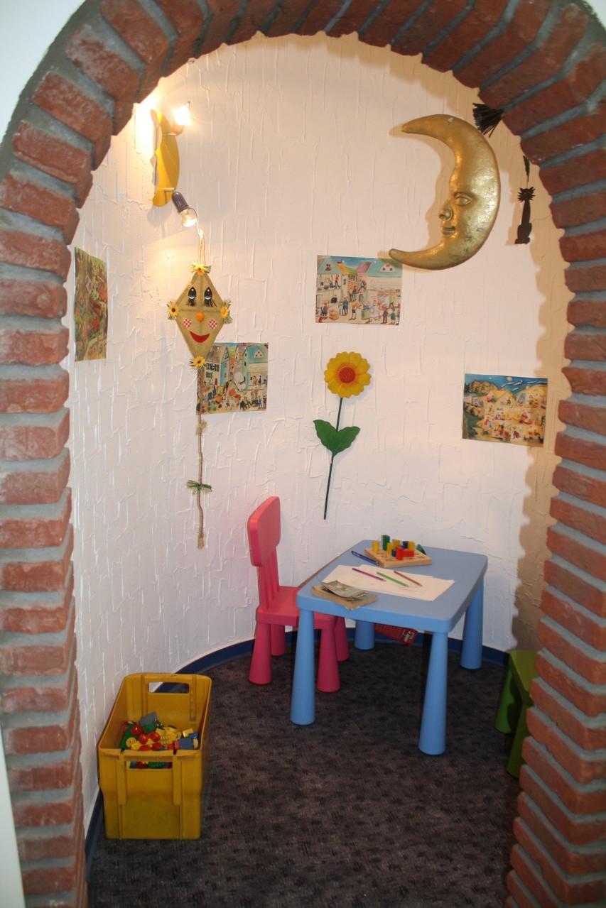 Ausstellungsräume von Fliesen Diercks in Bünde - Kinderspielecke