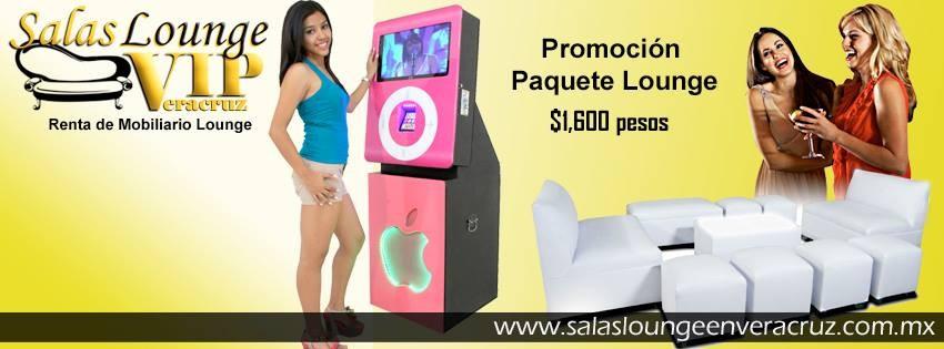 Renta de Rockolas y Salas Lounge en Veracruz