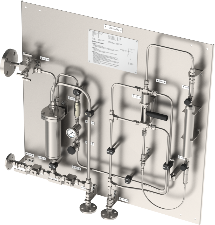 Photo Gallery Sampling Solutions - Mechatest Liquid and Gas