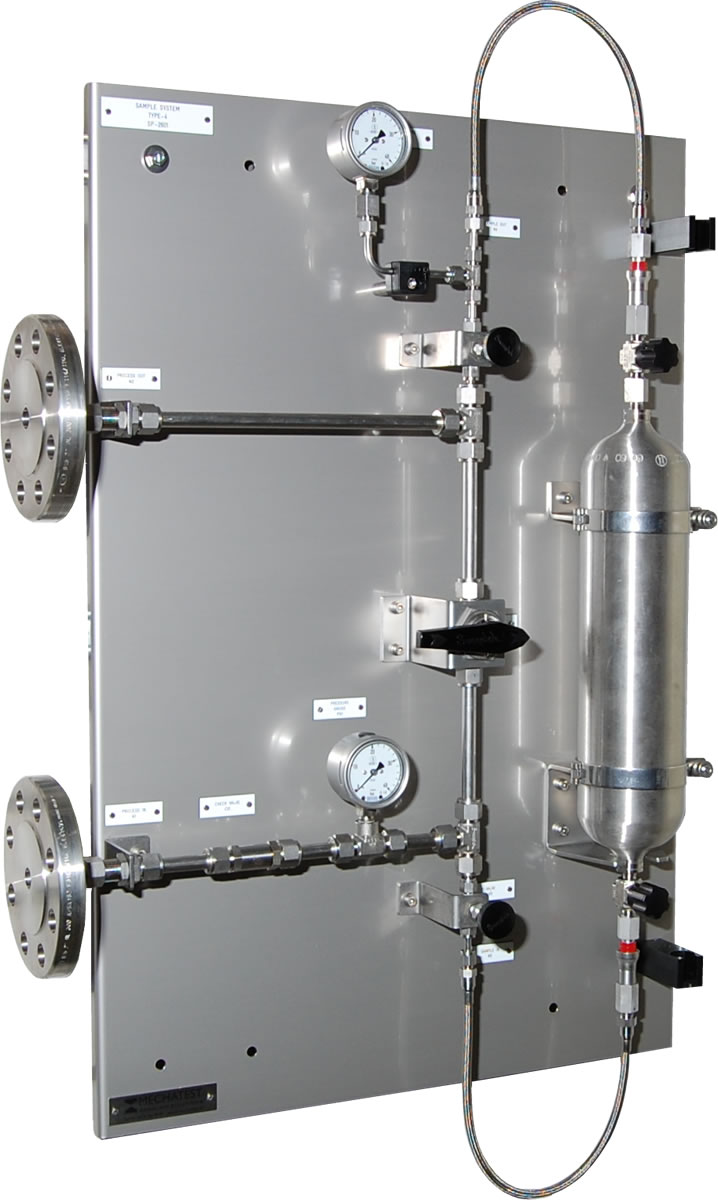 Gas Sampling Systems Gas Samplers Mechatest Liquid And