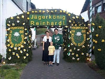 Jägerkönig 2000/01 Reinhard Pulver