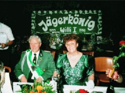 Jägerkönig 1995/96 Willi Schmitz