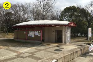 久宝寺緑地BBQマップ