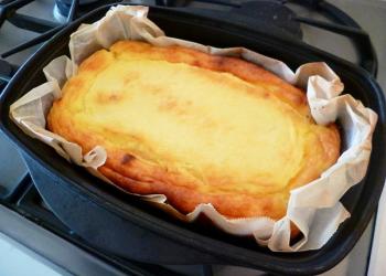 BBQ チーズケーキ ダッチオーブン