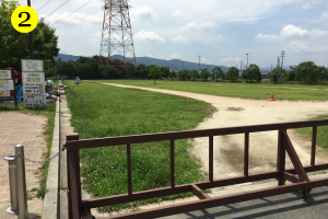 山田池公園BBQマップ