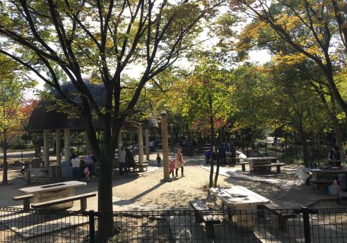 鶴見緑地公園 BBQ情報