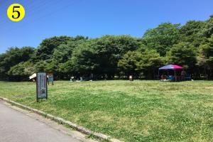 大泉緑地BBQマップ