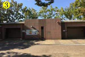 鶴見緑地BBQマップ