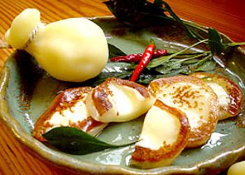 BBQ カチョカバロ 焼きチーズ
